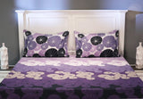Moon Light Queen Size Bedsheet With 2 Pillow Cover