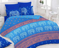 Pack of 2 Bedsheets and 4 Pillow Covers. Value Set - uber-urban