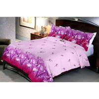 Thistle garden bed sheet and pillow covers