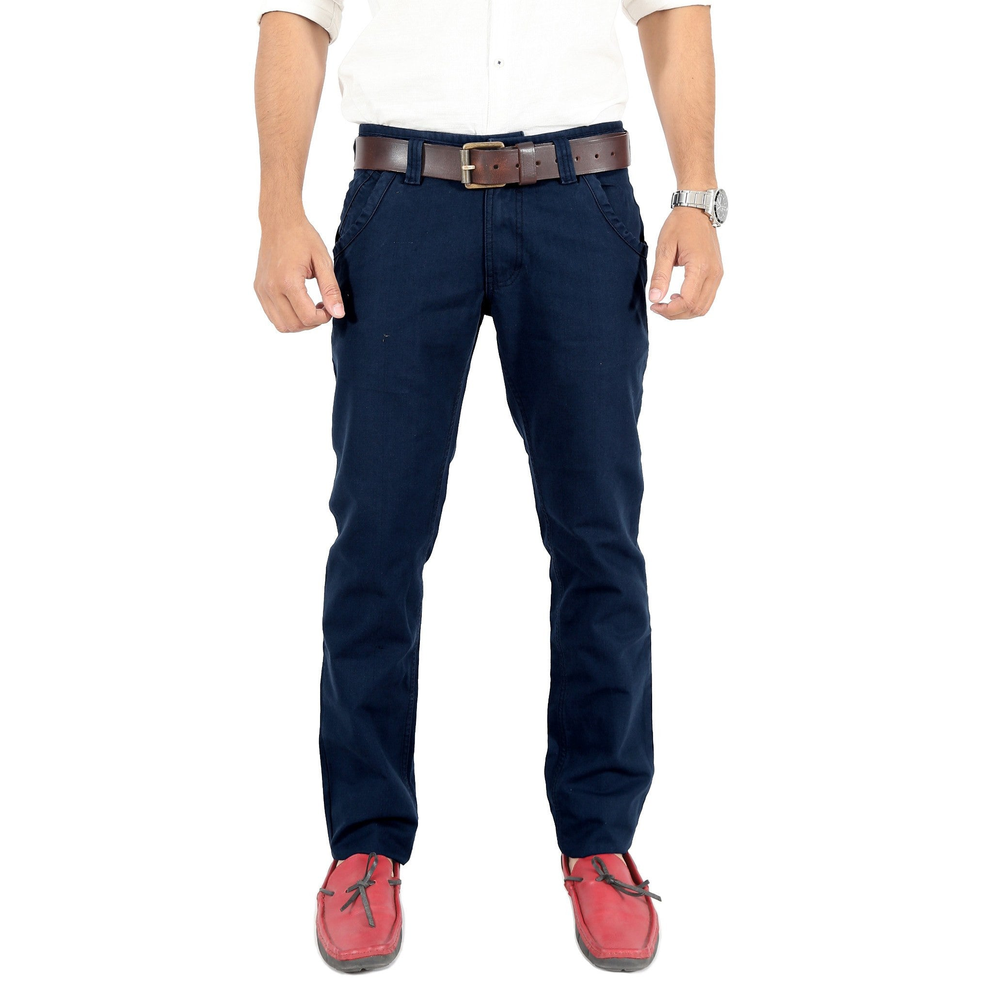 Uber Blacklue Trouser front view