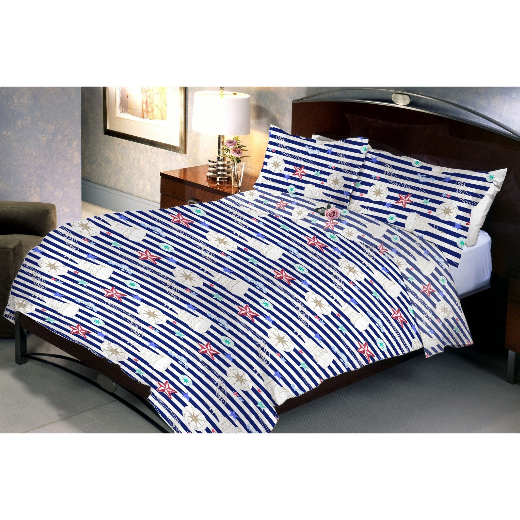 Zebra Queen Size Bedsheet With 2 Pillow Cover - Über Urban Bedsheet