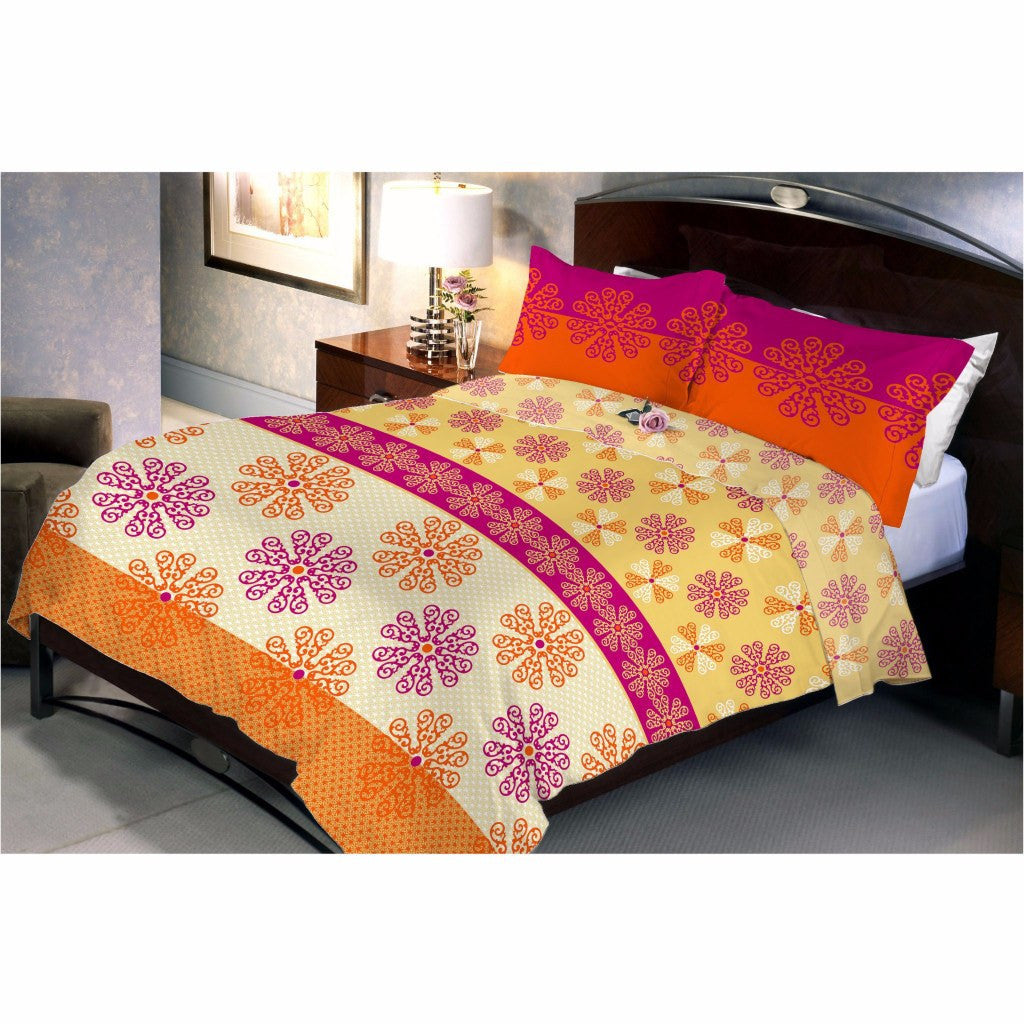 Cool Ivory Yellow bed sheet