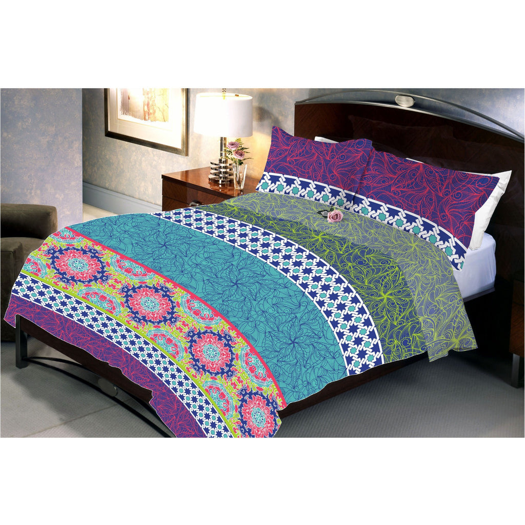 Water Lilly Bed Sheet