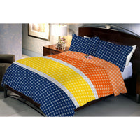 Safelblue Cotton Queen Size Bedsheet With 2 Pillow Cover