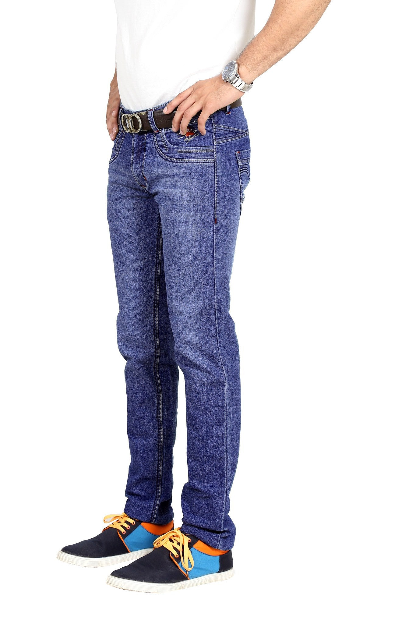 Navy Blue Victors Denim