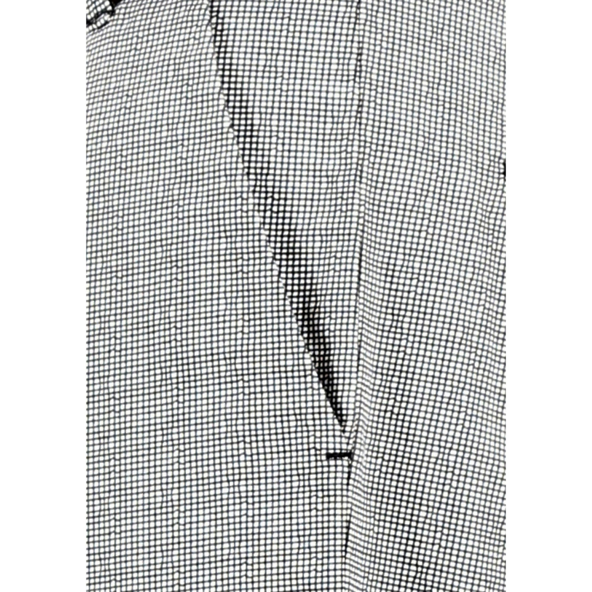 Wavy Grid Checks Trouser By Uber Urban Close Up