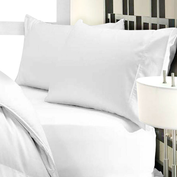 1000 Thread Count Cotton Modal TriBlend 4 piece Sheet Set - White