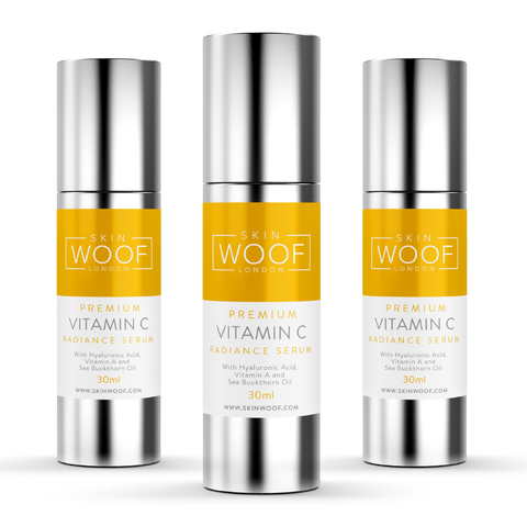 3 PACK OF SKIN WOOF VITAMIN C RADIANCE SERUM
