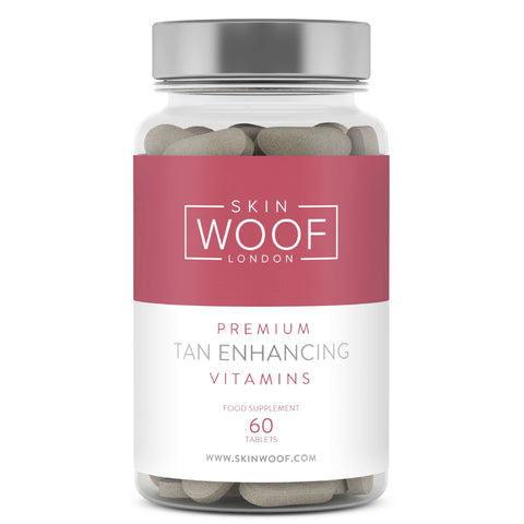 SKIN WOOF TAN ENHANCING VITAMINS 1 MONTH SUPPLY