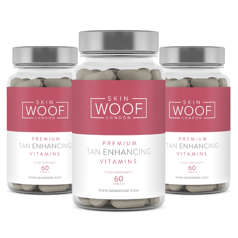 SKIN WOOF TAN ENHANCING VITAMINS 3 MONTH SUPPLY