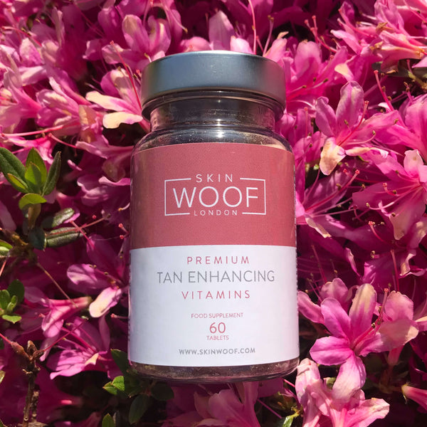 SKIN WOOF TAN ENHANCING VITAMINS MONTHLY SUBSCRIPTION