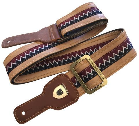 SEATBELT & KINDRED SPIRIT Script Guitar Straps