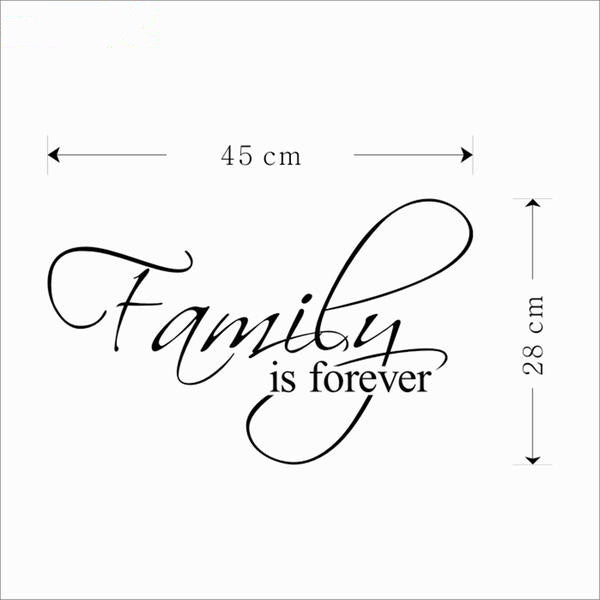 Family is forever sticker
