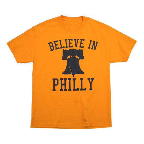 """Believe in Philly"" Orange Shirt"