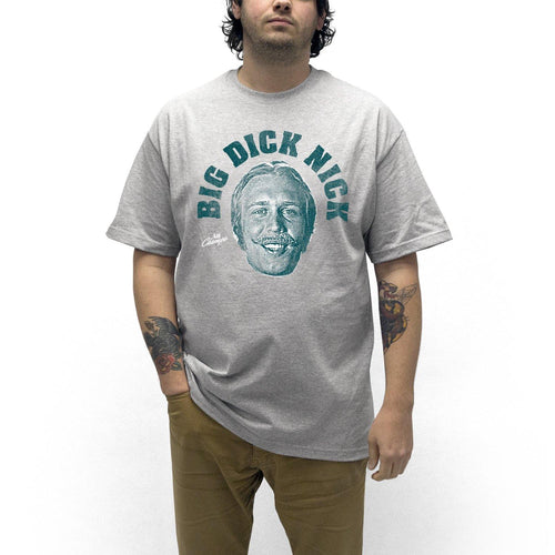 "Buy Now – ""Big Di*k Nick"" Shirt – Philly & Sports Merch – Cracked Bell"