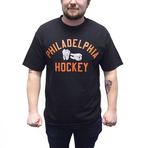 "Buy Now – ""Philadelphia Hockey"" Shirt – Philly & Sports Merch – Cracked Bell"