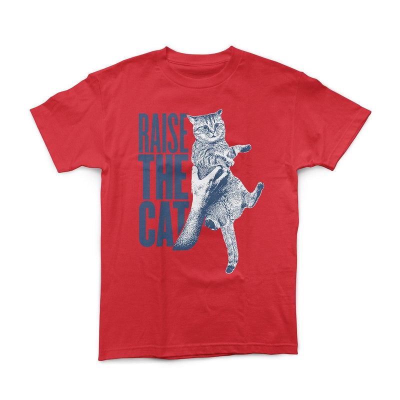 """Raise The Cat"" Red Shirt"