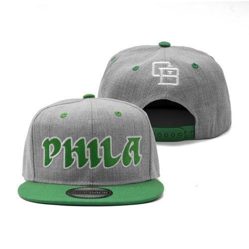 "Buy Now – ""Throwback"" Snapback – Philly & Sports Merch – Cracked Bell"