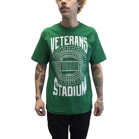 """Veterans Stadium"" Green Shirt"