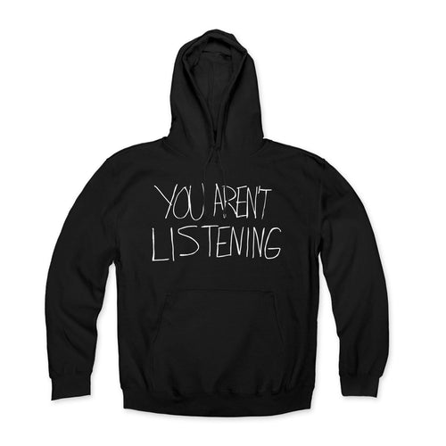"Malcolm Jenkins Foundation ""You Aren't Listening"" Hoodie"