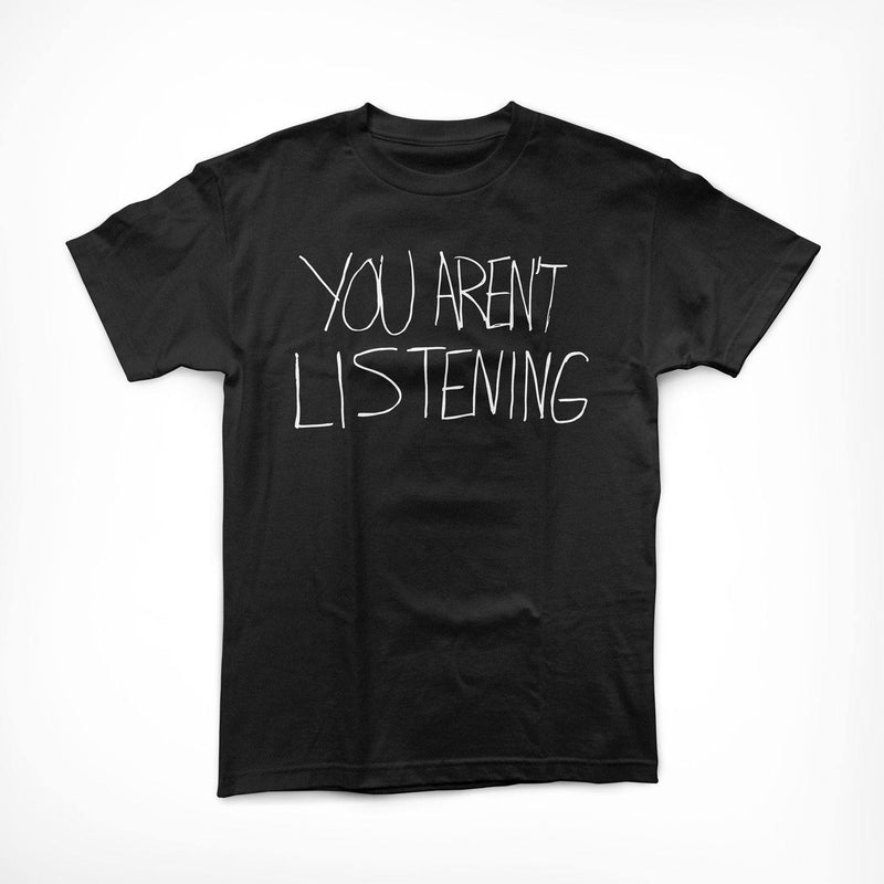 "Buy Now – Malcolm Jenkins Foundation ""You Aren't Listening"" Shirt – Cracked Bell"