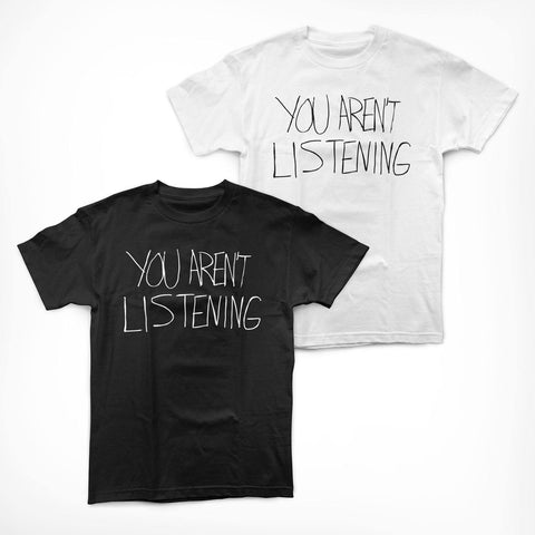 "Malcolm Jenkins Foundation ""You Aren't Listening"" Shirt"