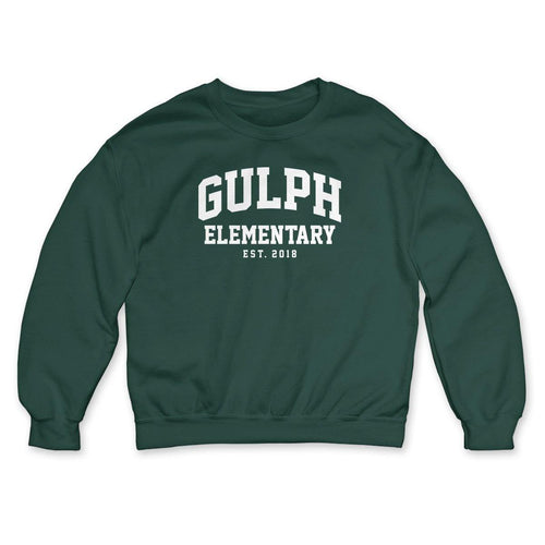 "Buy Now – Gulph Elementary School ""EST 2018"" Crewneck – Philly & Sports Merch – Cracked Bell"
