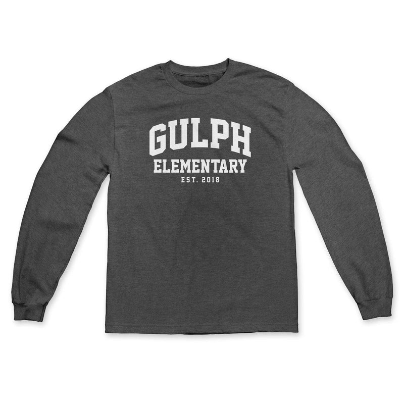 "Buy Now – Gulph Elementary School ""EST 2018"" Long Sleeve – Philly & Sports Merch – Cracked Bell"