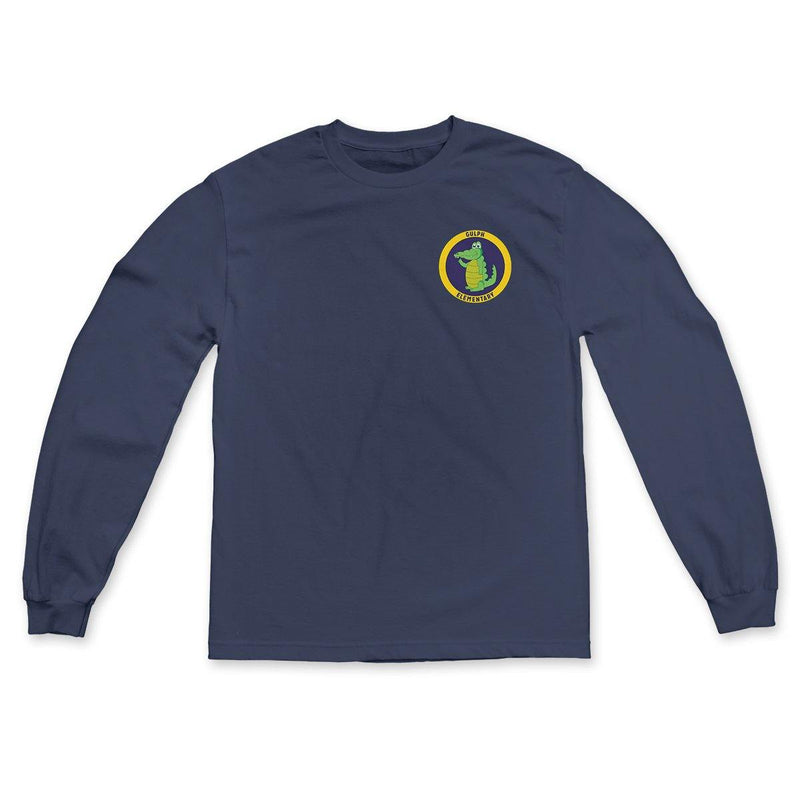 "Gulph Elementary School ""Full Color Logo"" Long Sleeve"