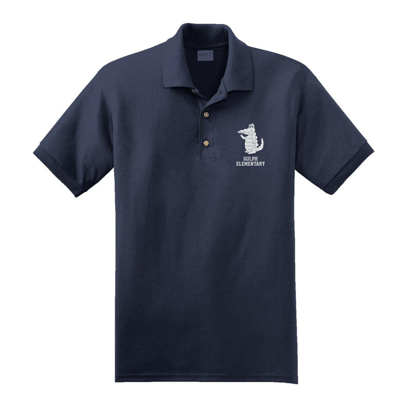 "Buy Now – Gulph Elementary School ""Gator"" Polo – Philly & Sports Merch – Cracked Bell"