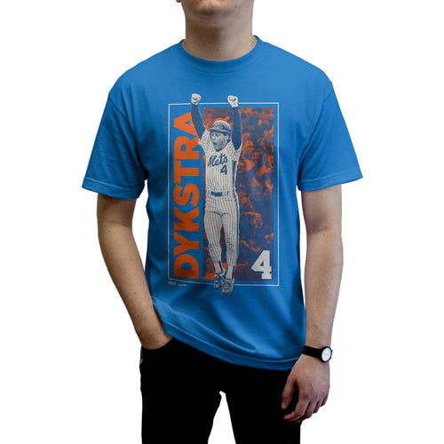 "Buy Now – Dykstra ""Jump"" Shirt – Philly & Sports Merch – Cracked Bell"