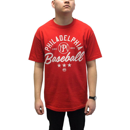 "Buy Now – ""Philadelphia Baseball"" Shirt – Philly & Sports Merch – Cracked Bell"