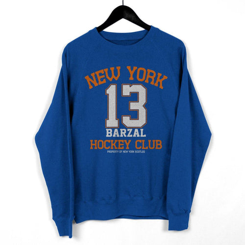 "NY Bootleg ""Property Of Barzal"" Crewneck"