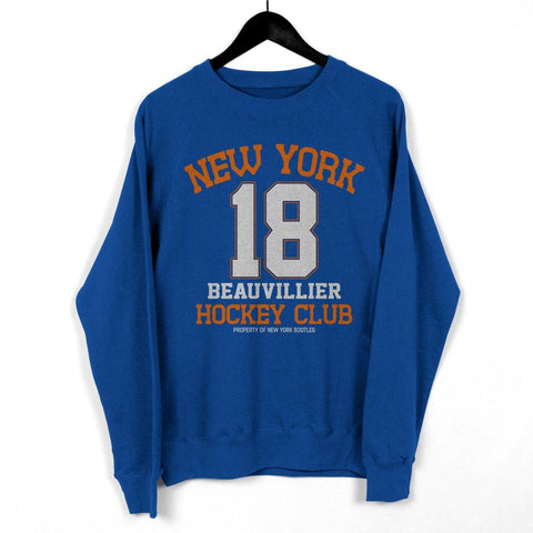 "NY Bootleg ""Property Of Beauvillier"" Crewneck"
