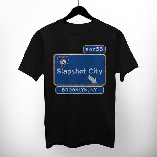 "NY Bootleg ""Slapshot City"" Shirt"
