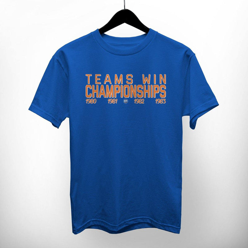 "NY Bootleg ""Teams Wins Champioships"""
