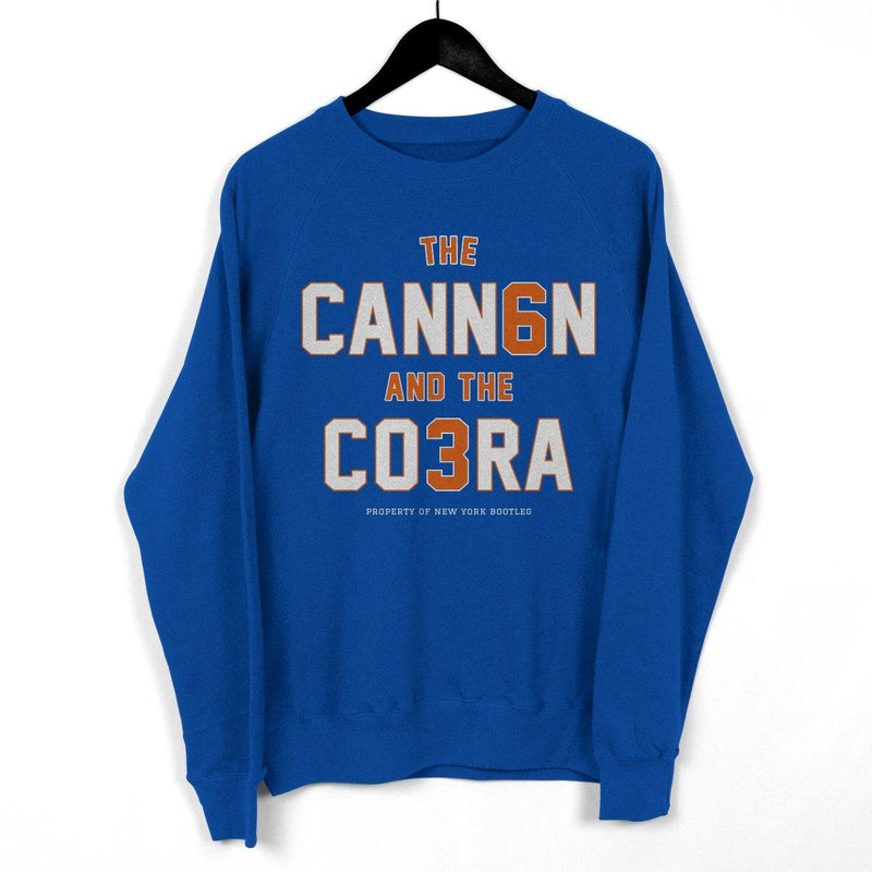"NY Bootleg ""The Cannon and the Cobra"" Crewneck"