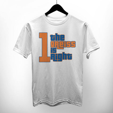 "NY Bootleg ""The Greiss Is Right"" Shirt"