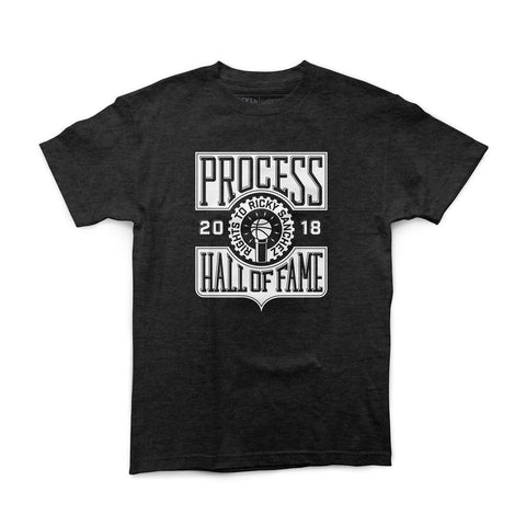 "Rights To Ricky Sanchez ""Process HOF"" Vintage Black Shirt"