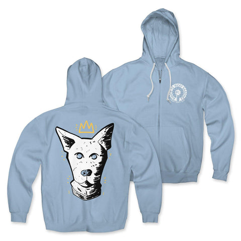 "Rights To Ricky Sanchez ""Dog Crown"" Zip-Up Hoodie"