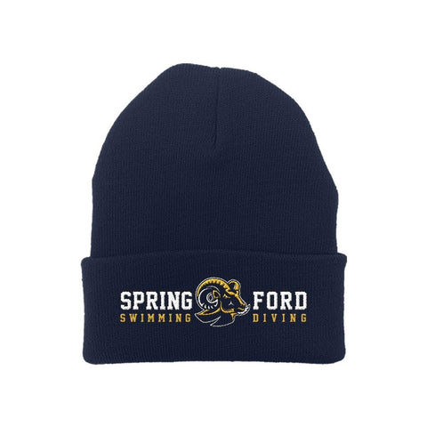 "Spring Ford ""Swimming Diving"" Beanie"