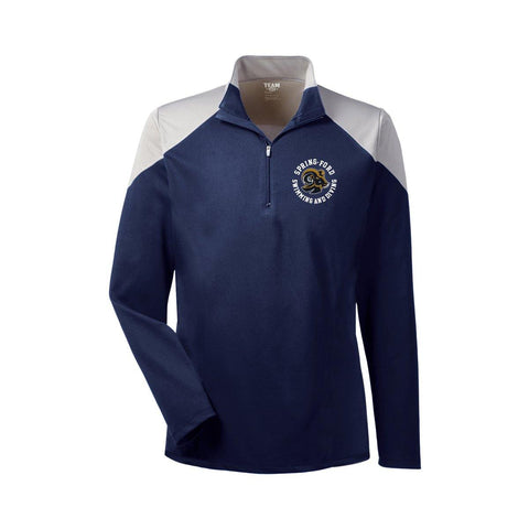 Spring Ford Swimming And Diving Colorblock Quarter Zip