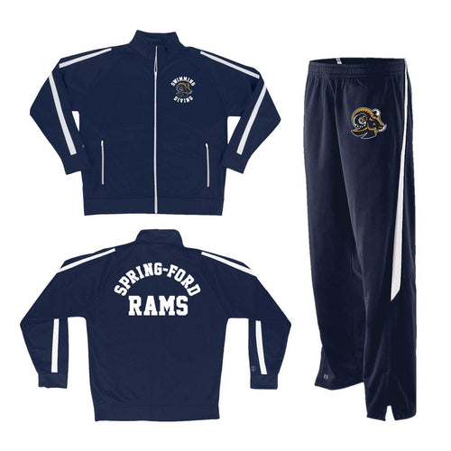 Spring Ford Swimming Diving Warm Up Suit