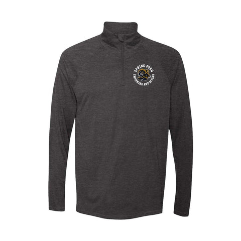Spring Ford Swimming And Diving Mens Quarter Zip