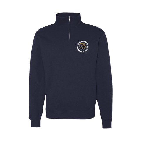 Spring Ford Swimming And Diving Jerzees Quarter Zip