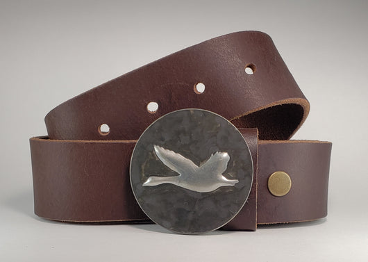 Flying Goose, Hand Embossed