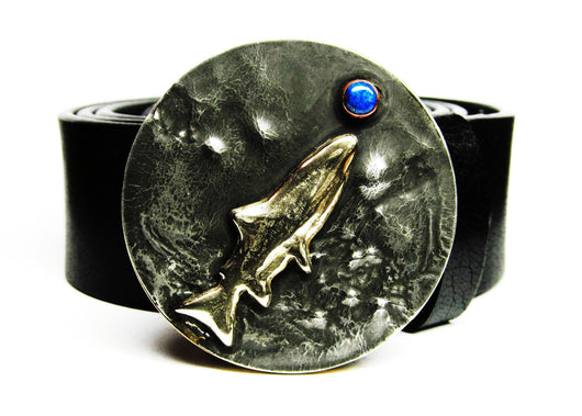 trout belt buckle Tyger Forge Having a Damsel for Dinner