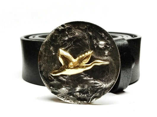 Flying Duck Belt Buckle - TYGER FORGE - Mark Goodwin