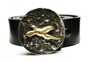 Phezzen Pheasant Belt Buckle - TYGER FORGE - Mark Goodwin