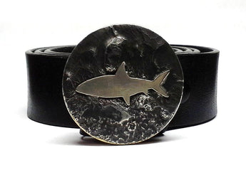 Bonefish Belt Buckle Hand Cut - TYGER FORGE - Mark Goodwin